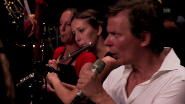 Video ««Pago Libre» und das Alpentöne-Blasorchester» abspielen