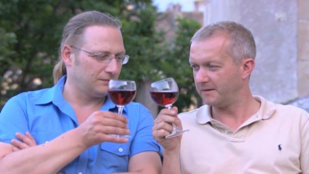 Video ««Töfflibuebe»: Reifen schnitzen» abspielen