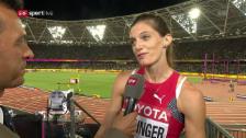 Video «Sprunger: «Einen 5. Platz hätte ich sofort unterschrieben»» abspielen