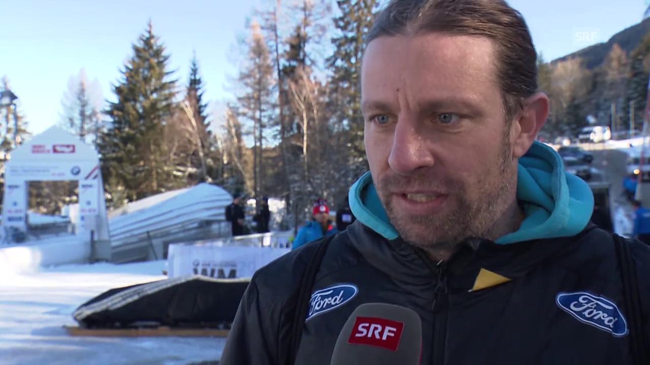 Nationaltrainer Wolfgang Stampfer zu den Schweizer Bobpiloten