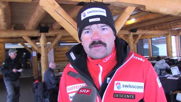 Video «Ski: Männerchef Stauffer über die Teamleader» abspielen
