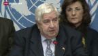 Video «Syrien-Konferenz in Genf beendet» abspielen
