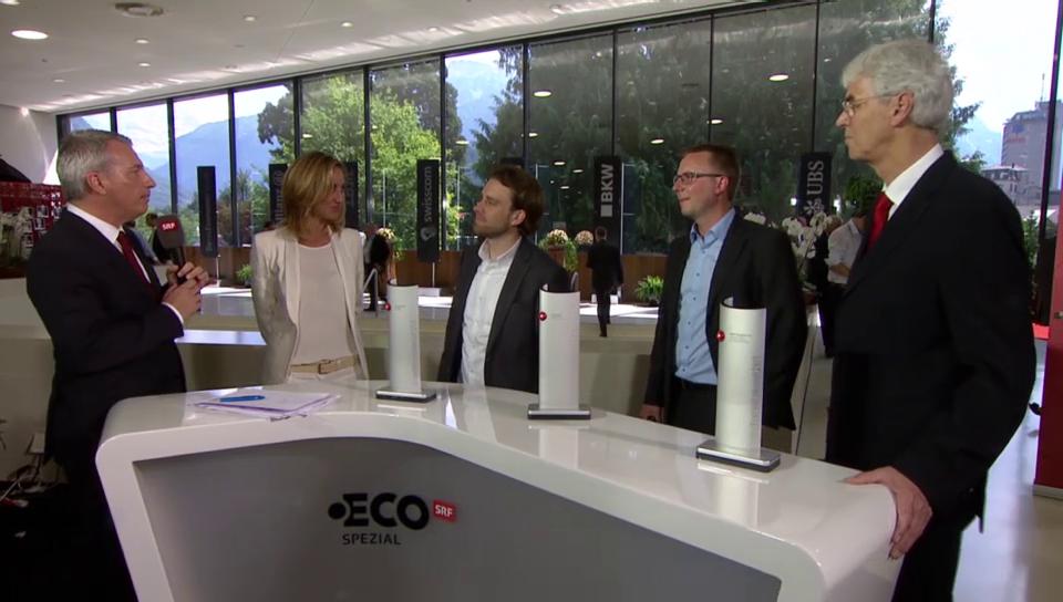 Die Gewinner des Swiss Economic Award