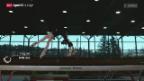 Video ««Schlusspunkt» – die Schwebebalken-Akrobatin in Superzeitlupe» abspielen
