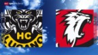 Video «Eishockey: NLA, Lugano - Lausanne» abspielen