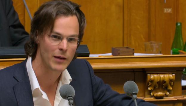 Video «Nationalrat Girod (Grüne/ZH): Man fördert Fehlentwicklung» abspielen