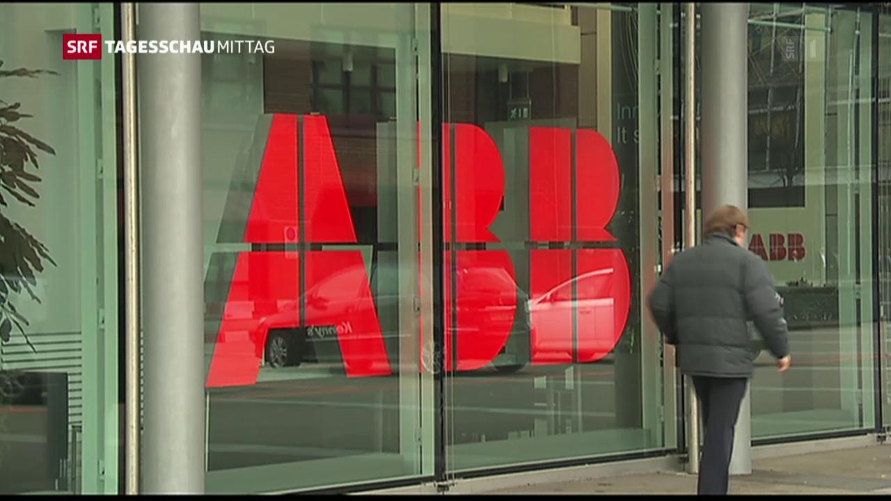 ABB mit Umsatzrückgang