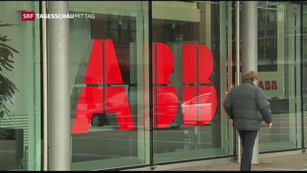 Video «ABB mit Umsatzrückgang» abspielen