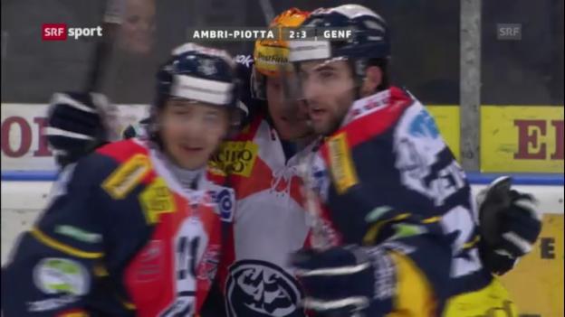 Video «Ambri - Genf («sportaktuell»)» abspielen