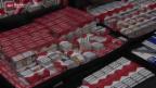 Video «Massive Zunahme von Zigarettenschmuggel» abspielen