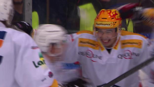 Video «Eishockey: Stapleton trifft in der Overtime gegen Ambri» abspielen