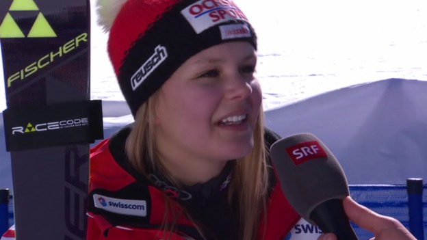 Video «Ski-WM, Vail/Beaver Creek, SL Frauen, Inti Chable 1. Lauf» abspielen