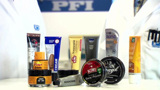 Video «Schuhcremes im Test: Welche Pasten wirklich glänzen» abspielen