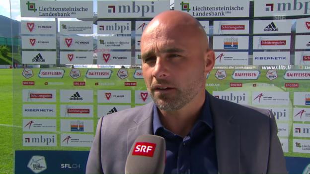 Video «Stimmen zum Spiel Vaduz - Luzern» abspielen