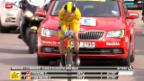 Video «Rad: Froome siegt im Zeitfahren» abspielen