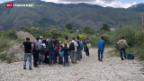 Video «Albanien: neuer Flüchtlingspfad» abspielen