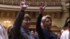 Video «Der erste Eindruck der frischgewählten Bundesrätinnen» abspielen