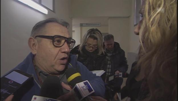 Video «Quintino Marcella berichtet über den Hilferuf» abspielen