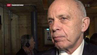 Video «Bundespräsident Maurer und der Fall Kashoggi» abspielen