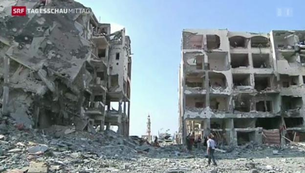 Video «Die Waffenruhe hält» abspielen