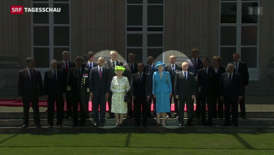 Diplomatie am D-Day