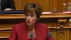 Video «Ruth Humbel (CVP/AG) begründet die von der CVP geforderten Verschärfungen» abspielen
