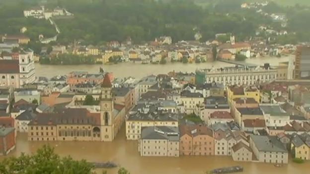 Video «Impressionen aus Passau» abspielen