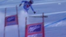 Video «Ski Alpin: Abfahrt Frauen Val d'Isère, Sturz von Marchand-Arvier in Val d'Isère («sportlive», 21.12.2013)» abspielen