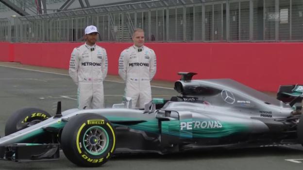 Video «Die brennendsten Fragen zum Formel-1-Saisonstart» abspielen