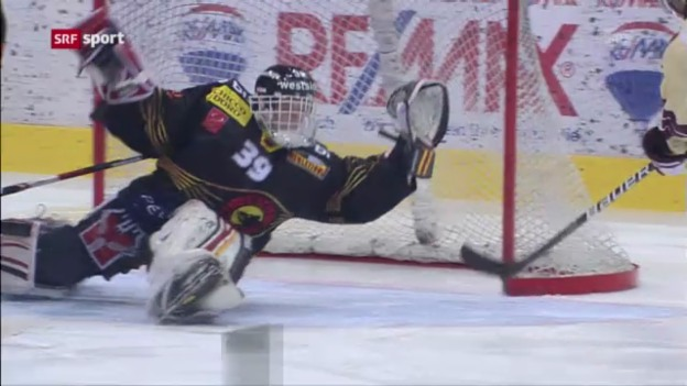 Video «Eishockey: Playoff-Viertelfinal Bern - Genf» abspielen