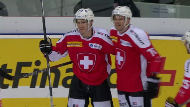 Video «Schweiz-Kanada: Die Tore» abspielen