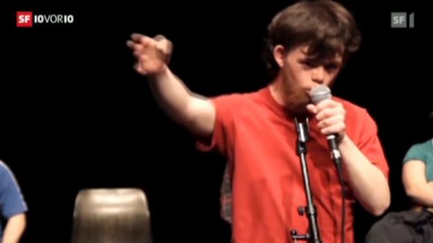 Video «Ungewöhnliche Theatergruppe in Avignon» abspielen