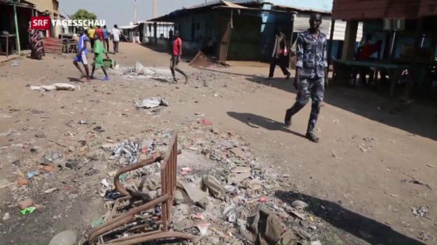 Video «Aufflammende Gewalt im Südsudan» abspielen