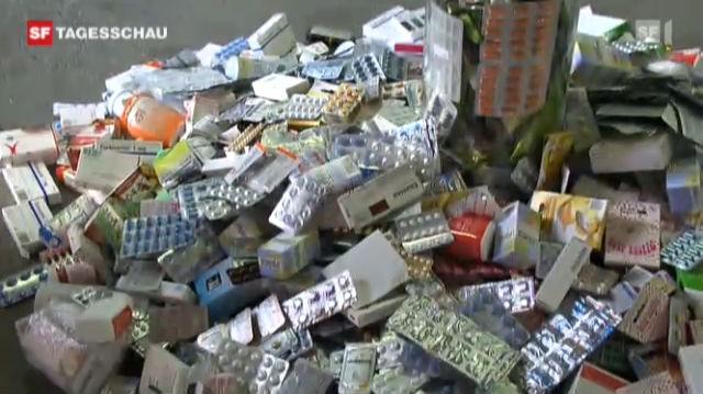 Die Polizei macht mit illegalen Kopien kurzen Prozess («Tagesschau» vom 28.10.2010)