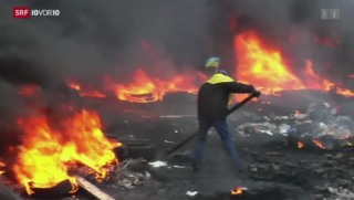 Video «Ukraine: Tote nach Krawallen» abspielen