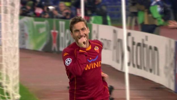 Video «Der «ewige Römer» tritt ab: Totti hört nach 24 Jahren auf» abspielen