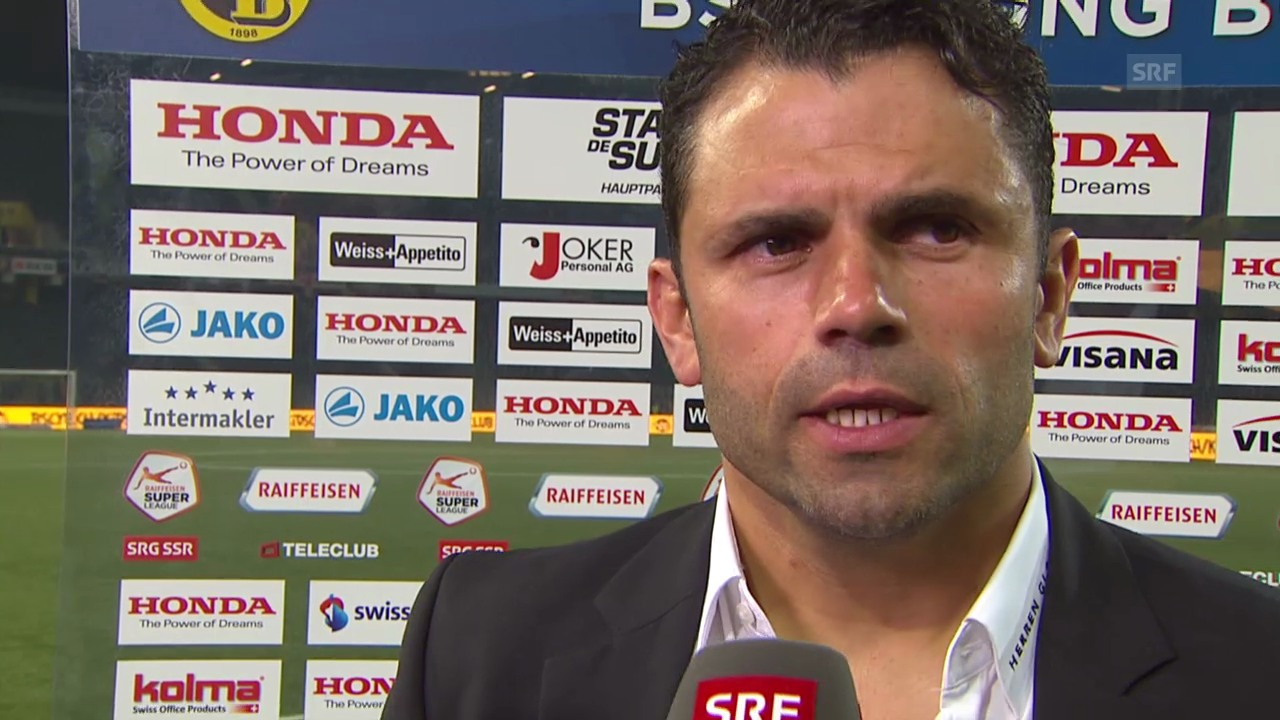 Fussball: Super League, Interview Uli Forte