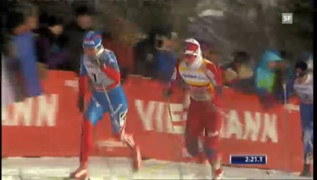 Video «Schlussphase Final Sprint Frauen (unkommentiert)» abspielen