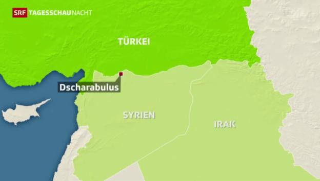 Video «Pläne für «IS-freie» Sicherheitszone» abspielen