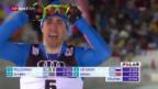 Video «Pellegrino lässt Favoriten im Finish hinter sich» abspielen