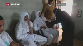 Video « Giftgasangriff in Syrien geklärt» abspielen
