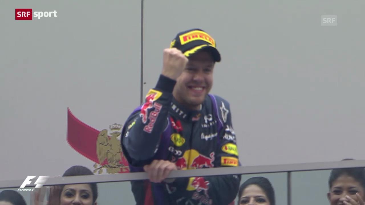F1: Vettel gewinnt GP von Indien und wird Weltmeister («sportpanorama»)