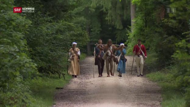 Video «Start zur Pilgerreise» abspielen