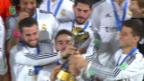 Video «Fussball: Klub-WM, Pokalübergabe» abspielen