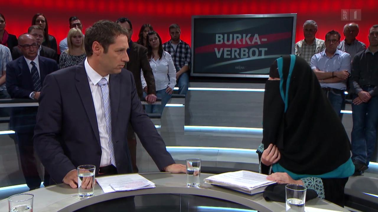 SRF-Arena: Schweizweites Burkaverbot?