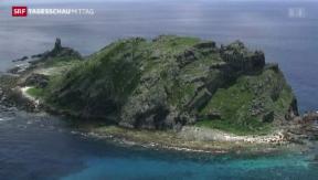 Video «USA mischen sich in Inselstreit ein» abspielen