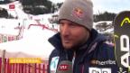 Video «1. Abfahrtstraining der Männer in Kitzbühel» abspielen