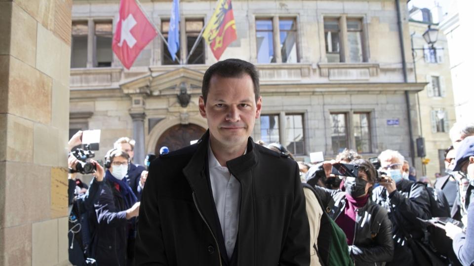 Pierre Maudet vor dem Berufungsgericht