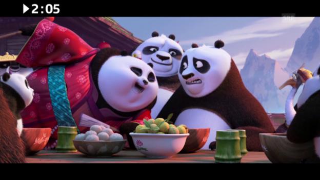 Video «Im Kino: «Kung Fu Panda 3»» abspielen