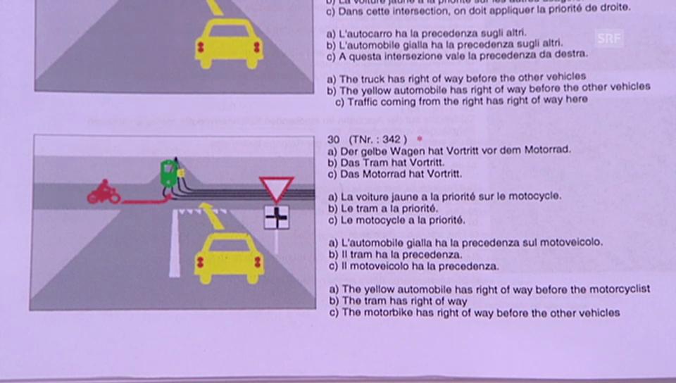 Promis in der «g&g»-Verkehrskunde: Frage 3